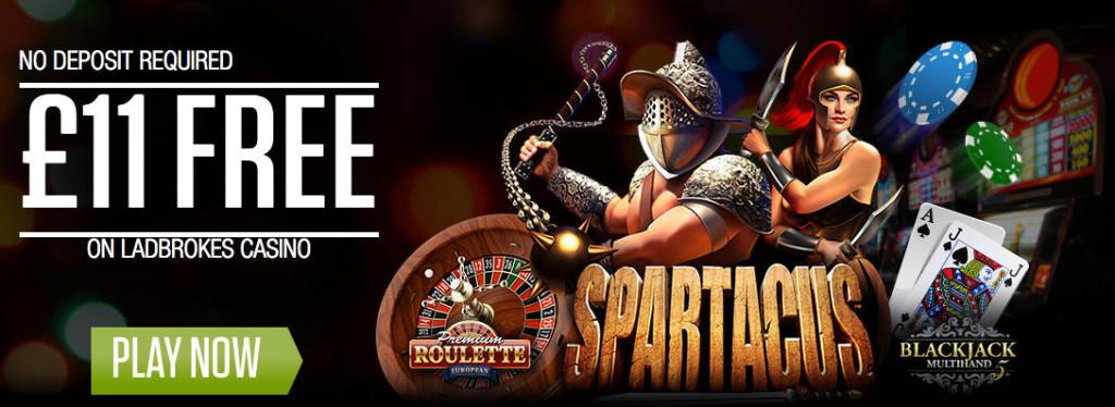 Promo Code Ladbrokes Casino VIPMAXUK - £11 bez depozytu na start
