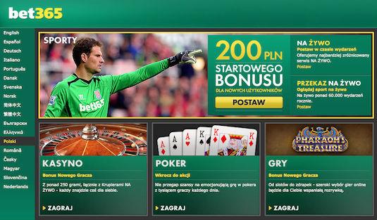 Strona internetowa bet365 pl