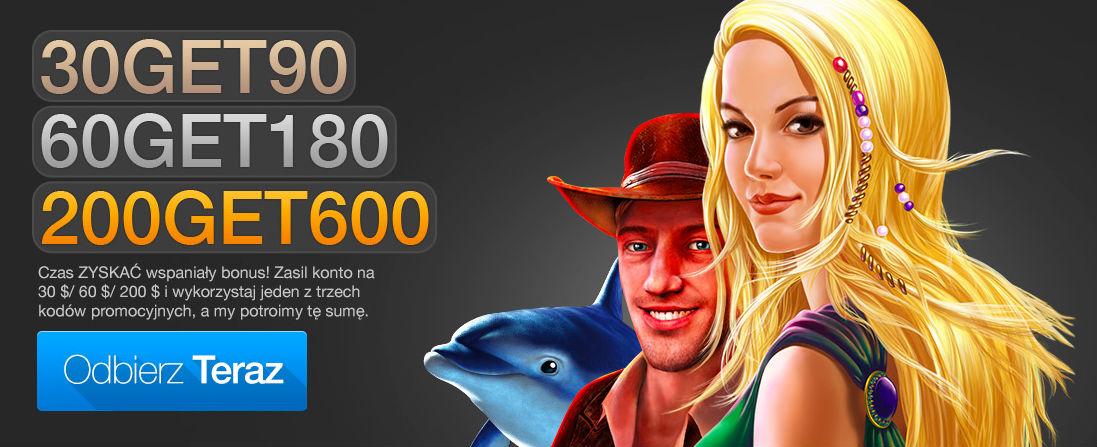 Wybierz kod bonusowy i dokonaj depozytu w Casino Fantasia