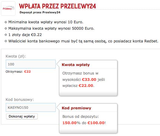 Zgarnij extra Free Spiny i bonus 150% od wpłaty z kodem premiowym KASYNO150
