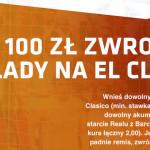 Postaw zakład na El Clasico i odbierz zwrot za remis do 100 zł