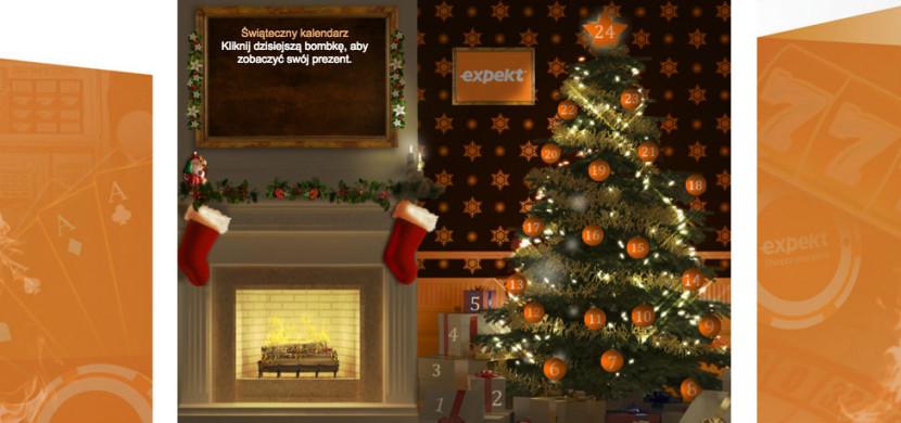 Zgarniaj nagrody aż do Świąt - Sprawdź kalendarz świąteczny na Expekt