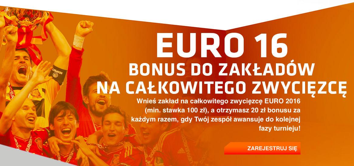 Wytypuj finalistę Euro 2016 i zgarnij 100 zł bonusu od Expekt