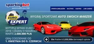 Wytypuj za darmo wyniki spotkań EURO 2016 i wygraj nagrody z puli 2 000 000 PLN w Sportingbet!