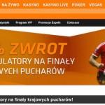 Zwrot za akumulatory na Finały Pucharów Piłkarskich w Expekt