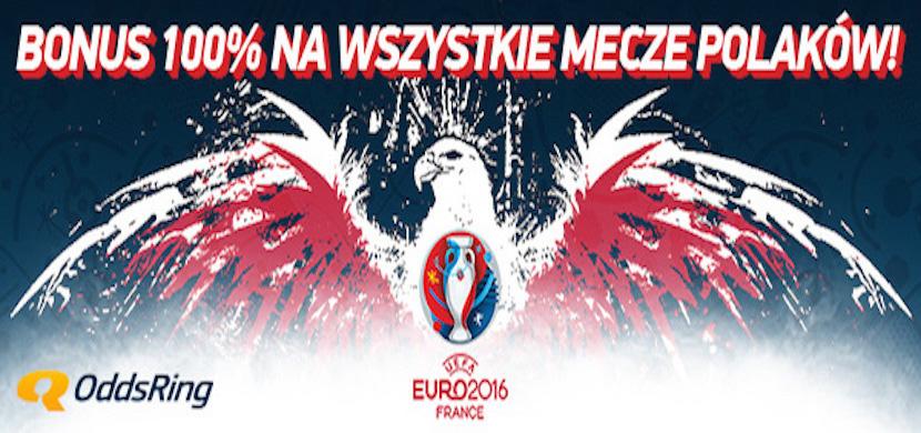 Odbierz zwrot postawionej stawki za przegrany mecz Polaków w zakładach bukmacherskich OddsRing