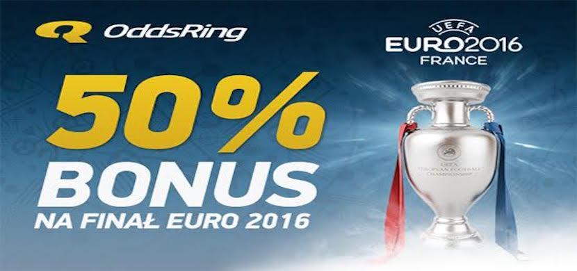 Odbierz 50 PLN Bonusu za nietrafiony zakład w Finale EURO 2016