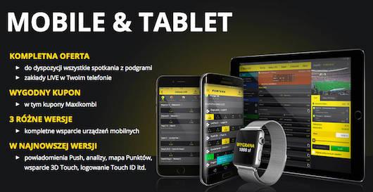 Pobierz darmową aplikację mobile, zarejestruj konto z promo kodem - obstawiaj i oglądaj transmisje na żywo!