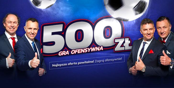 Bonus powitalny od Etoto 500 zł