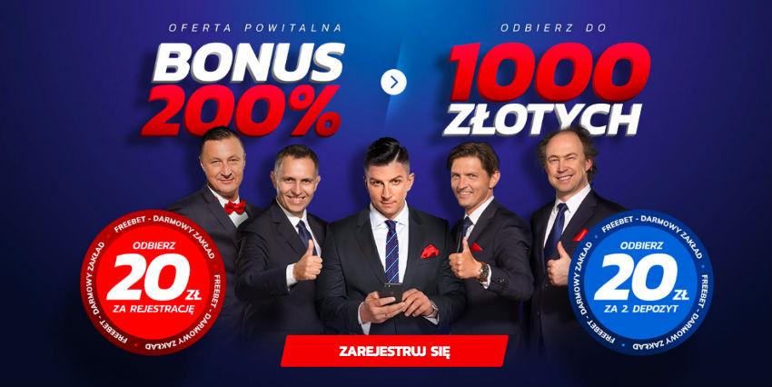 Etoto bonus bez depozytu 20 PLN. Oferta powitalna Etoto 2019