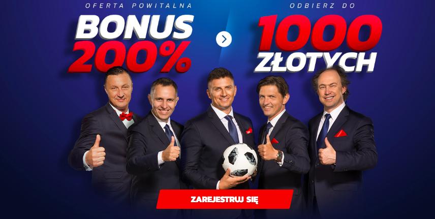 Etoto bonus na start do 1000 PLN