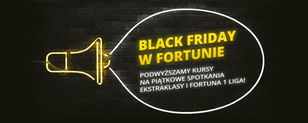 Black Friday u bukmachera Fortuna