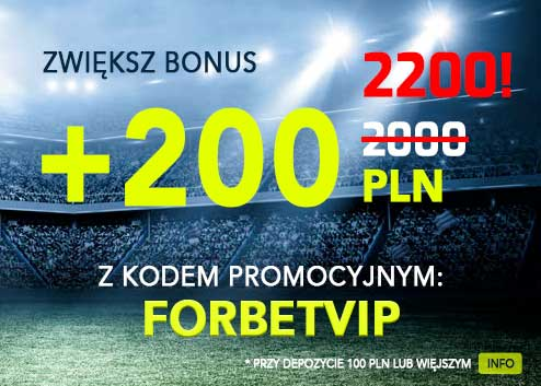 Forbet kod bonusowy 2020