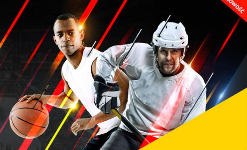 Nocna promocja LV BET na NBA i NHL