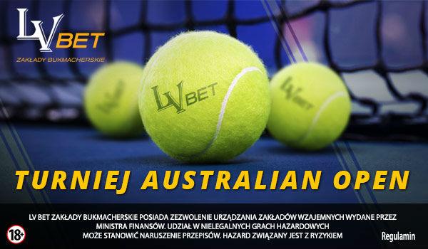 Bonus od LV BET na turniej Australian Open 2019
