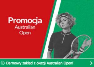 Darmowy zakład z Australian Open od PZBuk