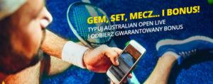 Bonus od Fortuny na turniej Australian Open 2019