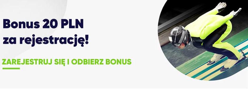 Bonus 20 PLN od forBET za rejestrację