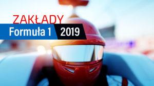 Formuła 1 zakłady bukmacherskie 2019. Robert Kubica zakłady
