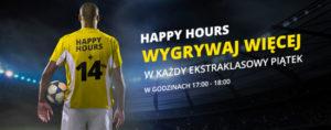 Happy Hours Fortuna większe wygrane o 14%