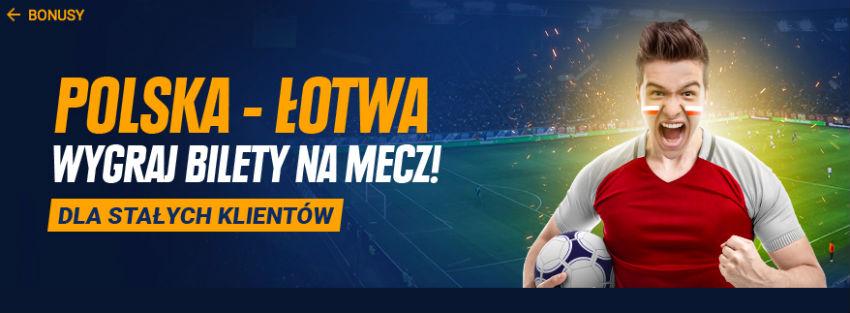 Wygraj w STS bilety na mecz Polska-Łotwa i bonusy