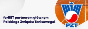 forBET głównym partnerem Polskiego Związku Tenisowego