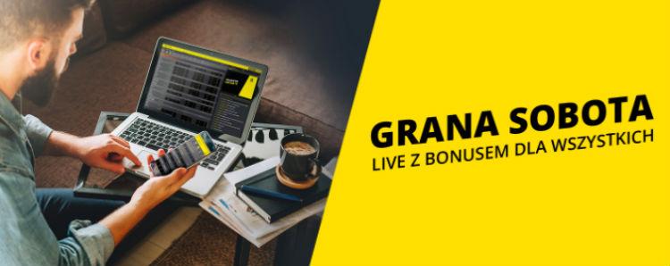 Bonus 20 PLN za zakłady live w Fortunie