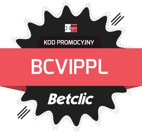 Betclic kod promocyjny oferta powitalna