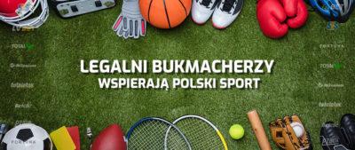 Bukmacherzy sponsorują sport