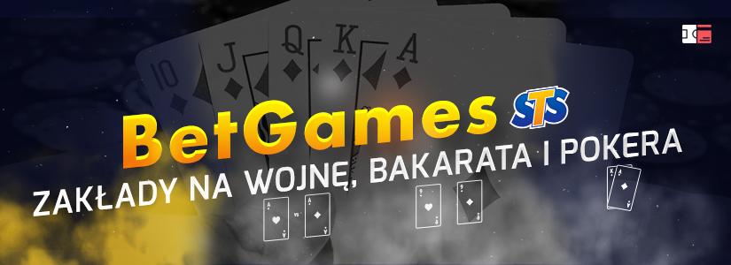 BetGames STS zakłady na gry karciane