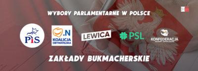 Wybory parlamentarne - zakłady bukmacherskie