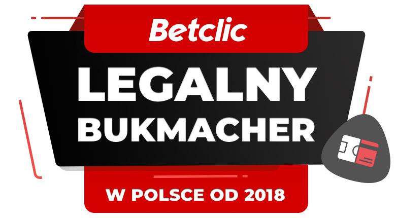 Betclic legalny od 2018
