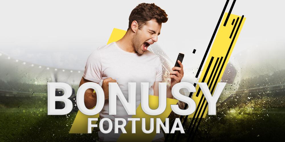 Bonusy i promocje u bukmachera Fortuna