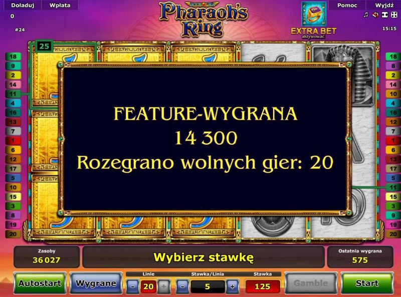 Promocja dla graczy Pharaoh's Ring