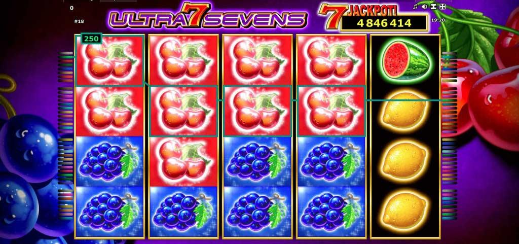 Ultra Sevens na StarGames