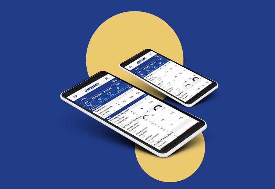 Aplikacja na telefon eWinner