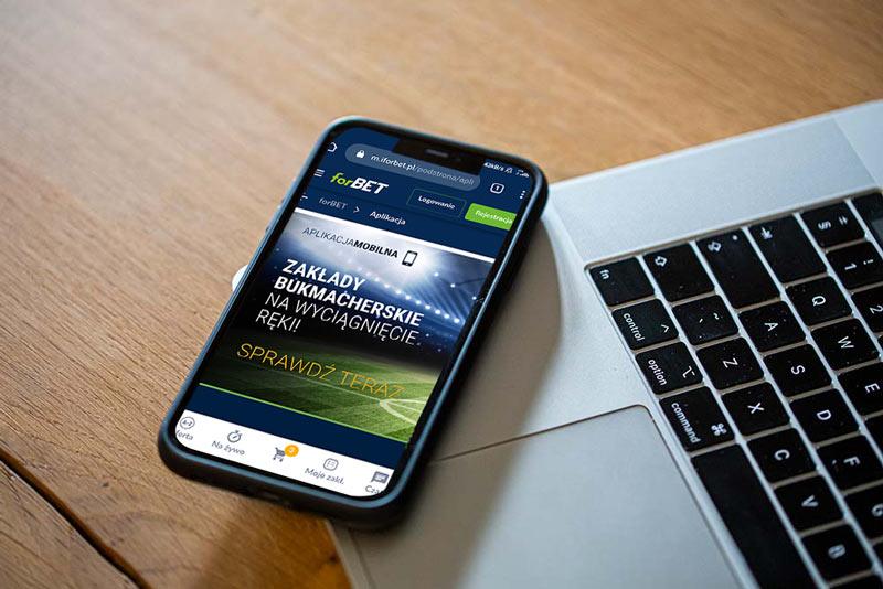 Aplikacja mobilna forBET