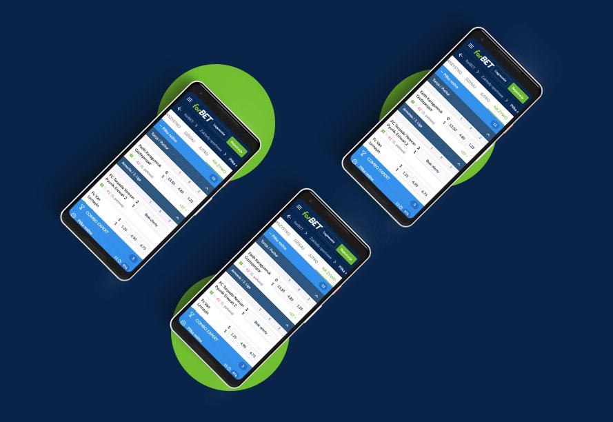 Aplikacja na telefon forBET