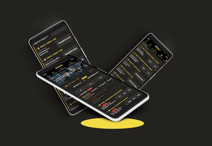 Aplikacja na telefon LV BET
