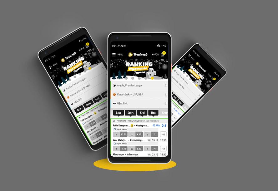 Aplikacja na telefon Totolotek
