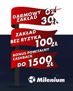 Milenium jak obrócić bonus?