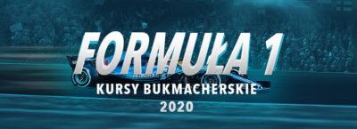 Formuła 1 2020 kursy bukmacherskie