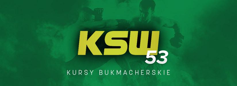 KSW 53 zakłady bukmacherskie