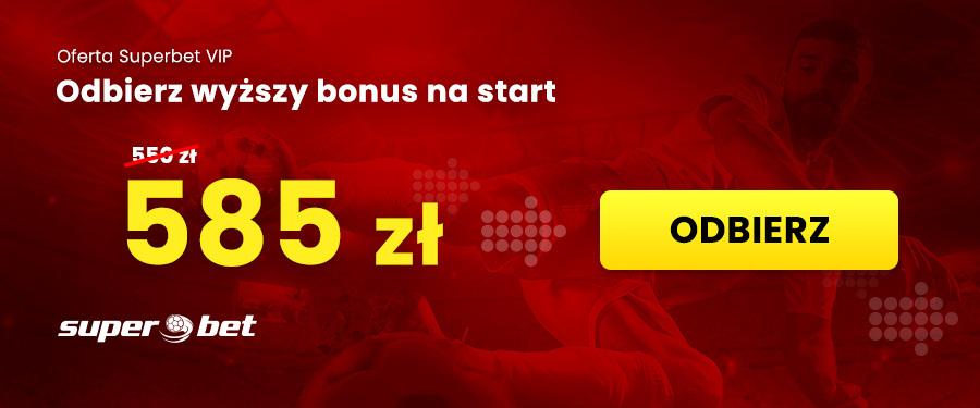 Kod promocyjny Superbet bonus na start