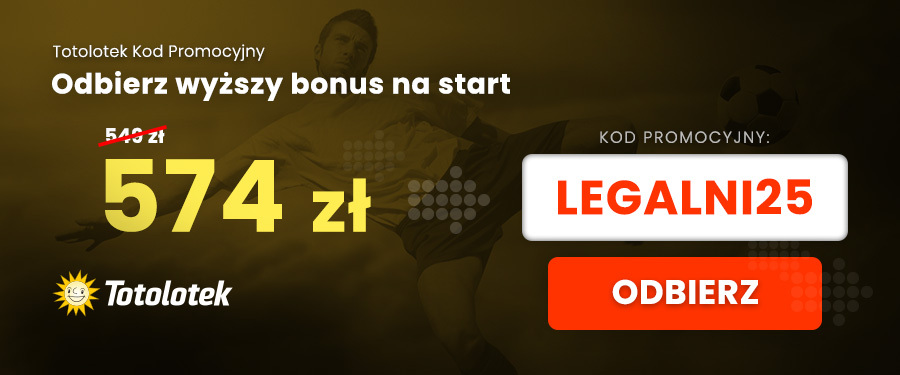 Kod promocyjny Totolotek bonusy VIP