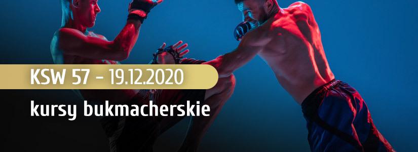 KSW 57 kursy bukmacherskie