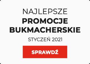 Najlepsze promocje bukmacherskie styczeń 2021