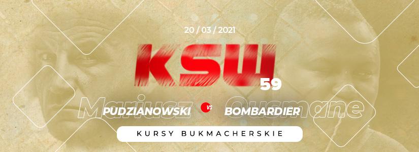 KSW 59 kursy bukmacherskie