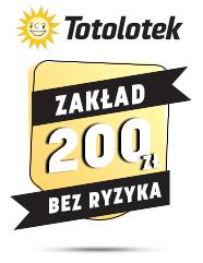 Zakład bez ryzyka na start Totolotek