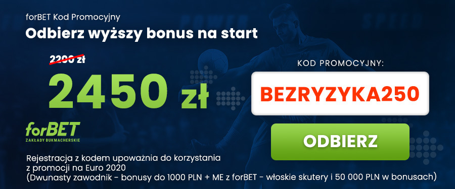 Kod promocyjny forBET bonusy na start